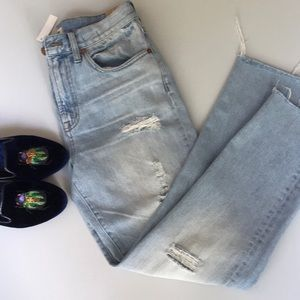 JUST IN - MADEWELL perfect vintage jean NWT